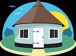 Hermanus Holidays roundhouses