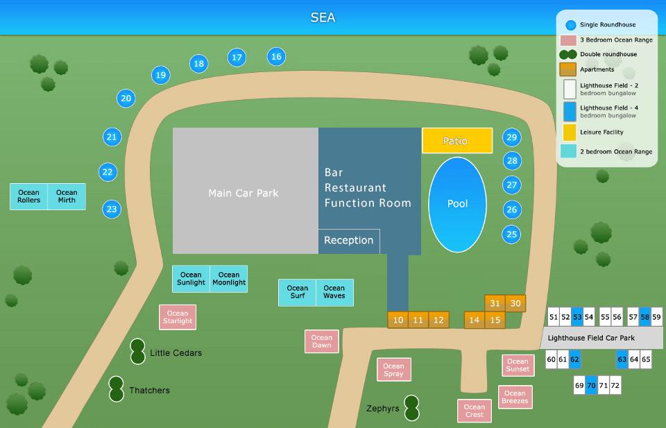 Hermanus site plan
