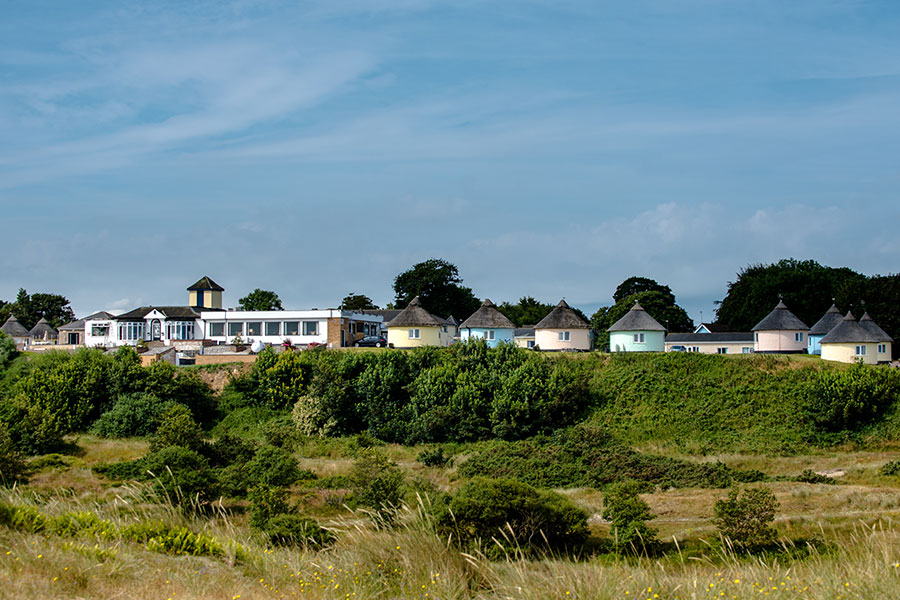 Hermanus on top of Winterton dunes