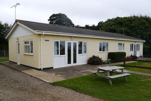 Four berth bungalow