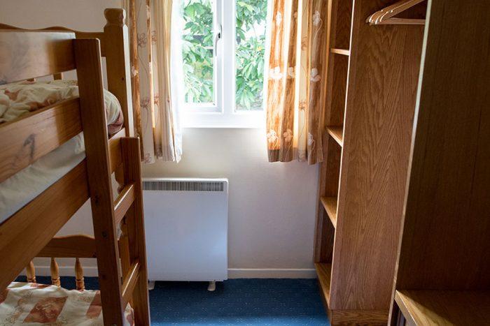 Four berth bungalow bunk bedroom