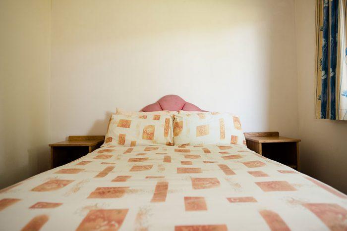 Four berth bungalow double bedroom